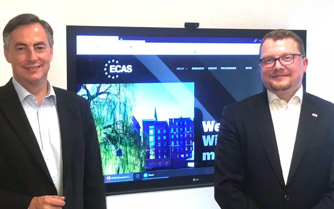 German MEP, David McAllister, signals support for ECAS during visit to Leuphana University